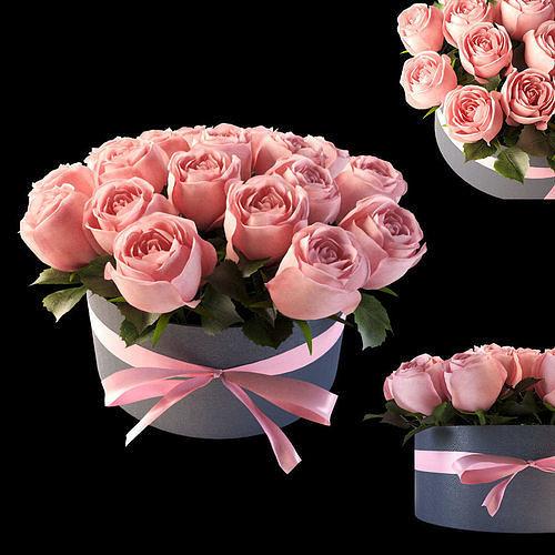 pink flowerbox