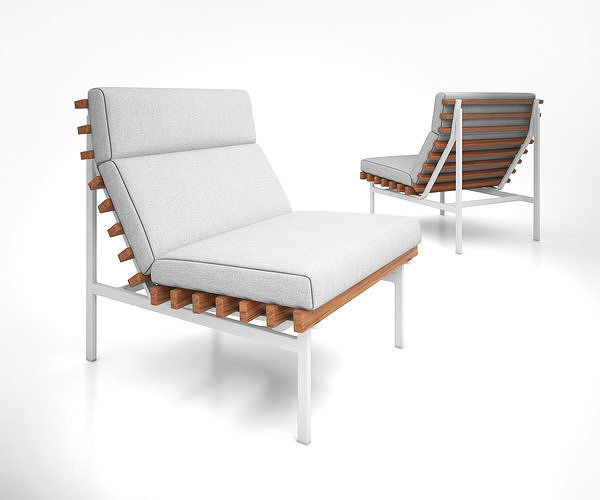 Perch Modern Outdoor Lounge Chair by Bludot