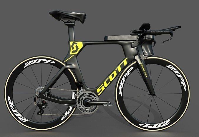 Scott Plasma S time-trial bike