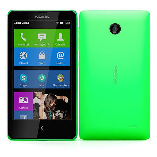 Nokia X and X plus Green