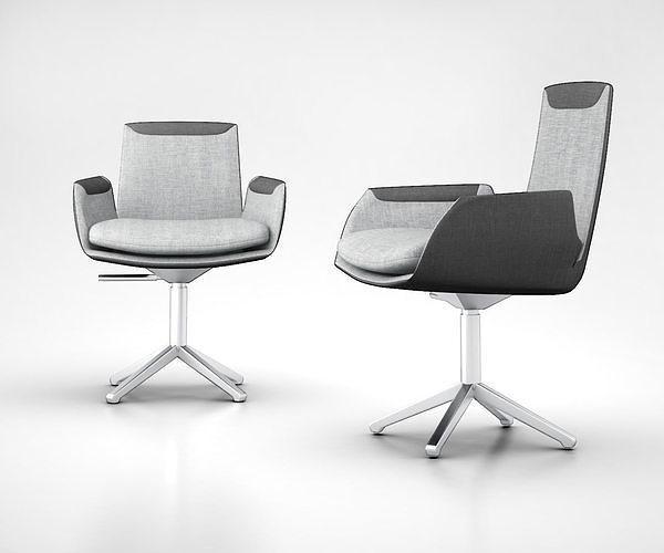 CORDIA Task chair with 4-Spoke base