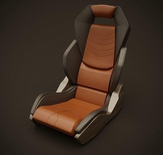 McClaren style seat