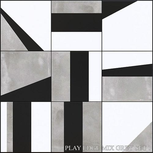ABK Play Edge Mix Grey Set 1