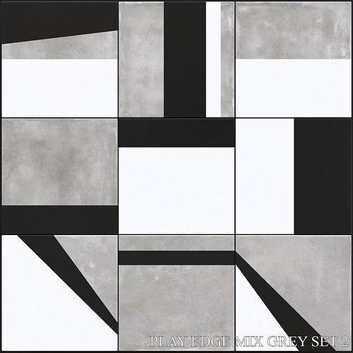 ABK Play Edge Mix Grey Set 2