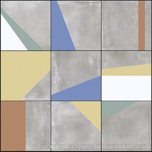 ABK Play Edge Mix Multicolor Set 1