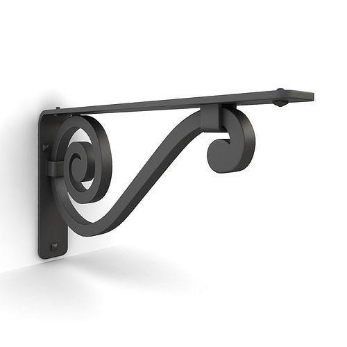 Iron shelf bracket 04
