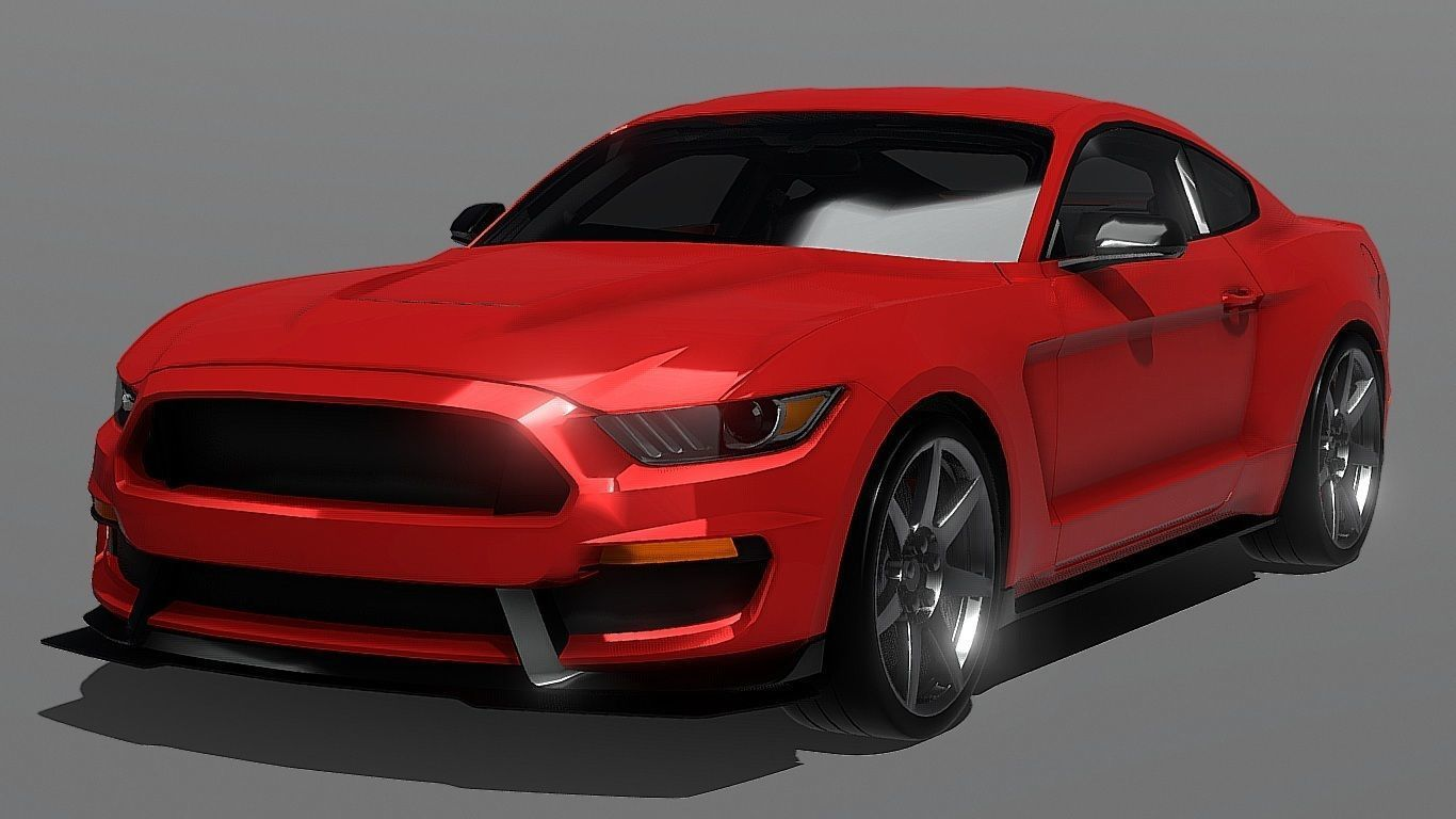 Auto shelby ford mustang 3d model 3d model