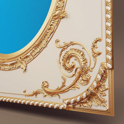 Ceiling Boiserie