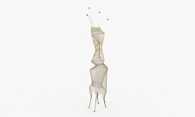 Wire Design Sculpture