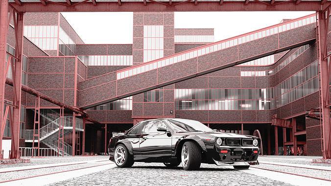 1996 Nissan 240SX -S14 BOSS