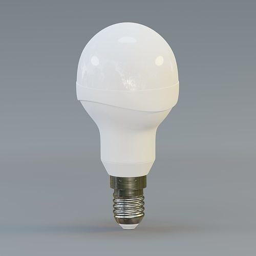 LED golfball light bulb