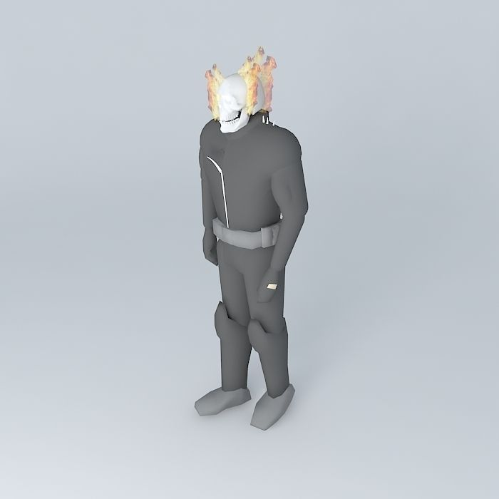 characters 3D model Ghost Rider | CGTrader