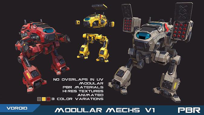 PBR Modular Mechs v1