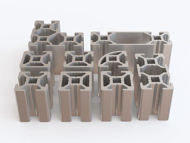 Profile aluminium 01