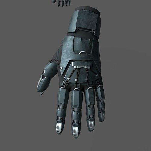 Scifi glove warior