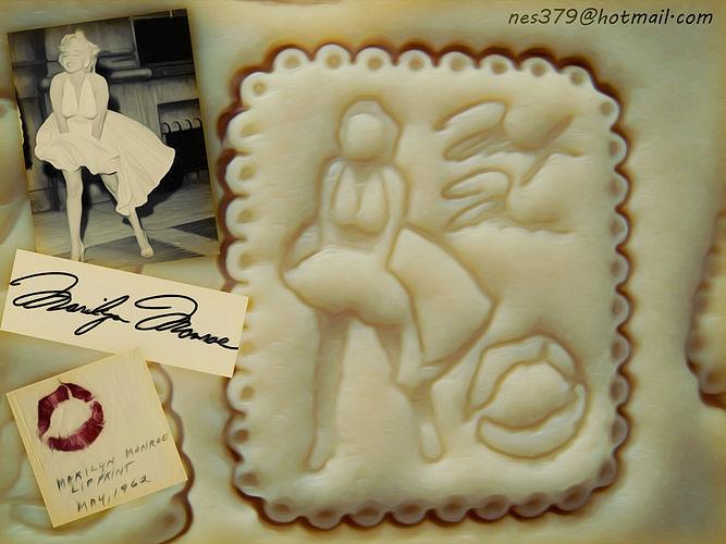 Marilyn Monroe Cookie cutter