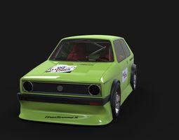3D model Golf 1 racing