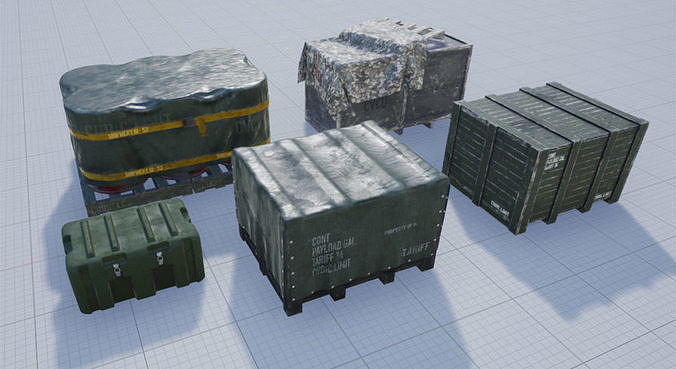Military Containers Pack