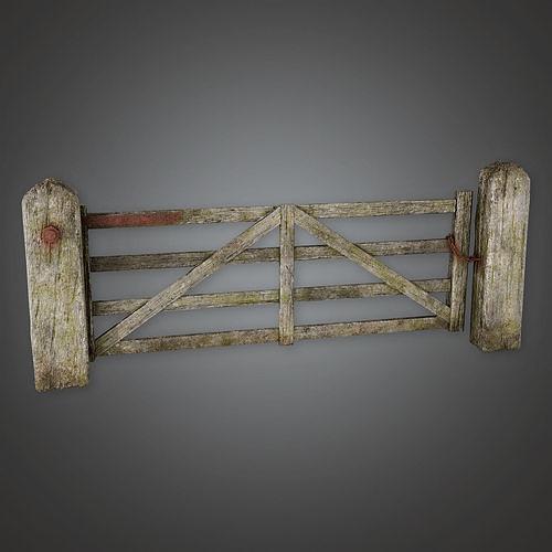 GFS - Outdoor Gate 06 - PBR Game Ready