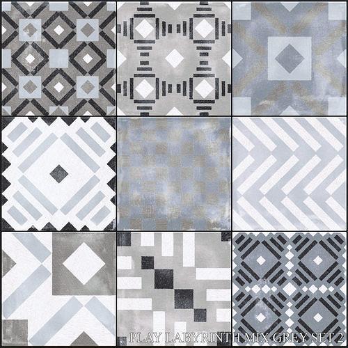 ABK Play Labyrinth Mix Grey Set 2