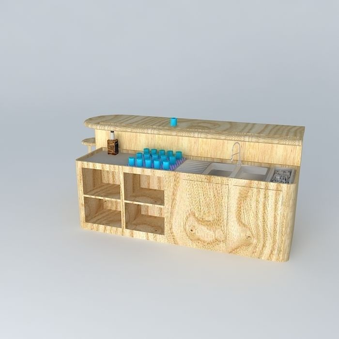 3D model Home Entertainment Bar | CGTrader