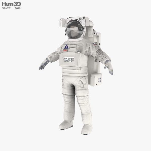Astronaut EVA suit