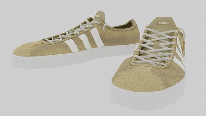 Snickers Adidas Leather Low Poly - VR