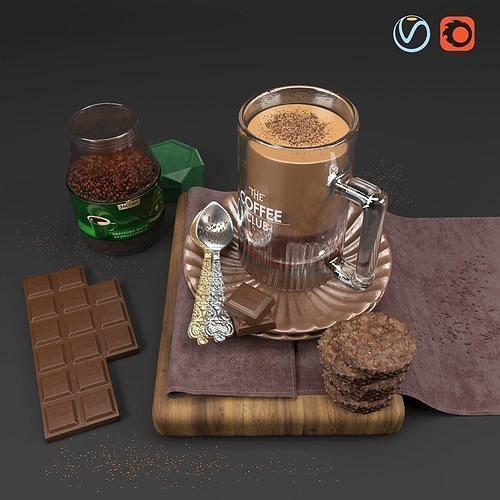 Decorative Coffee Set