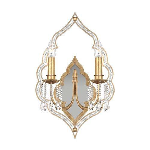 Sconce Lucia Tucci Tenerezza W5490-2 Gold