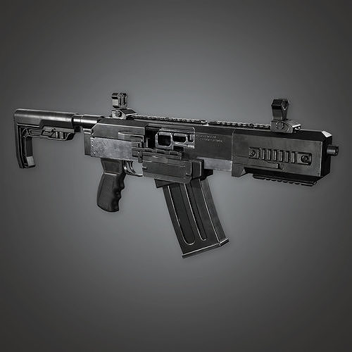 MSG - FPS Modern Shotguns - Vita Mortem - PBR Game Ready