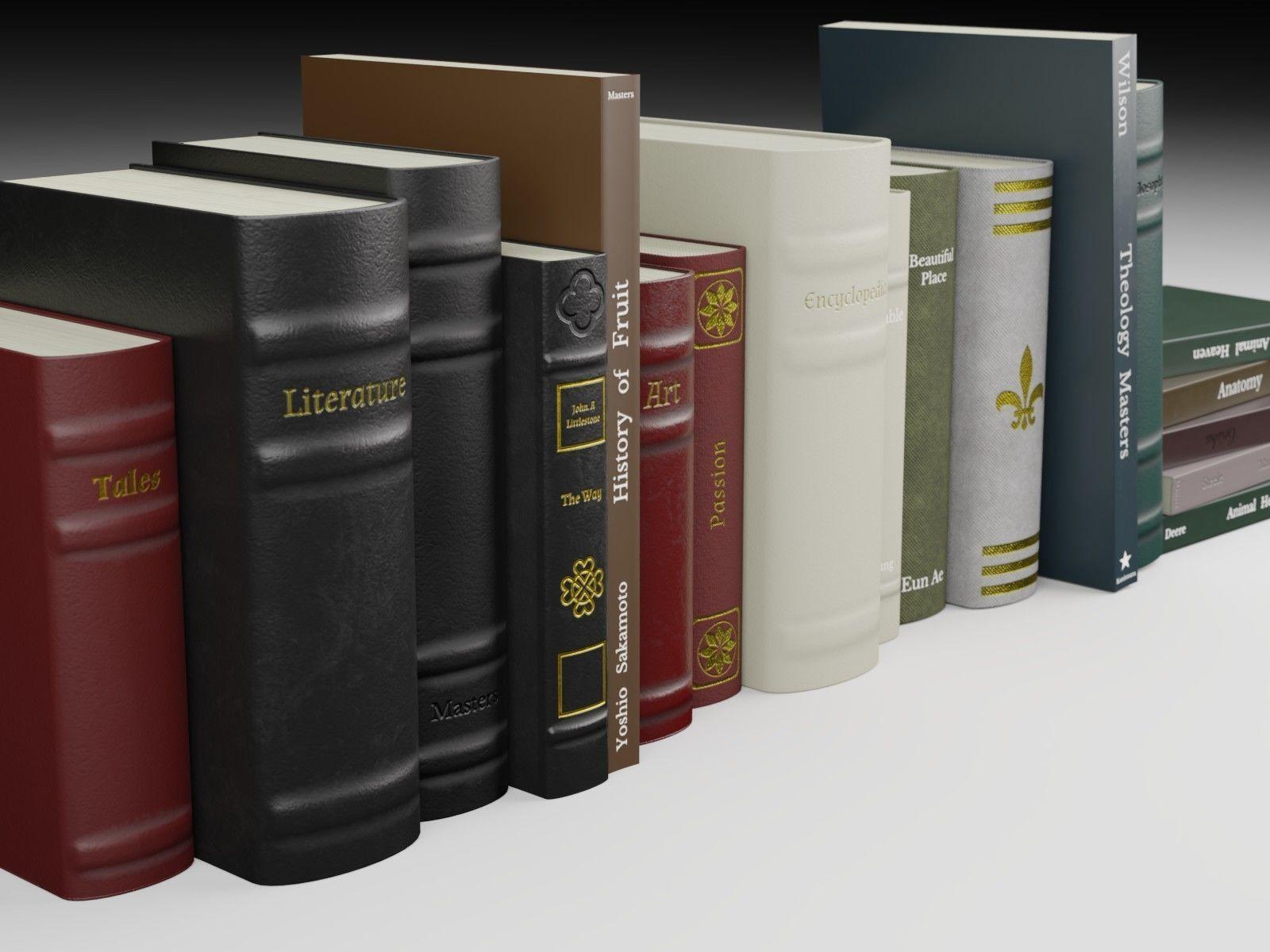 Antique Books PBR
