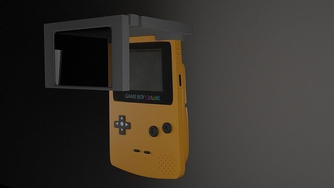 Gameboy color with accessory
