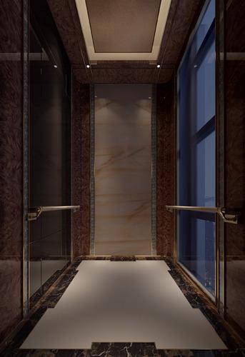 Elevator Interior 3D Model