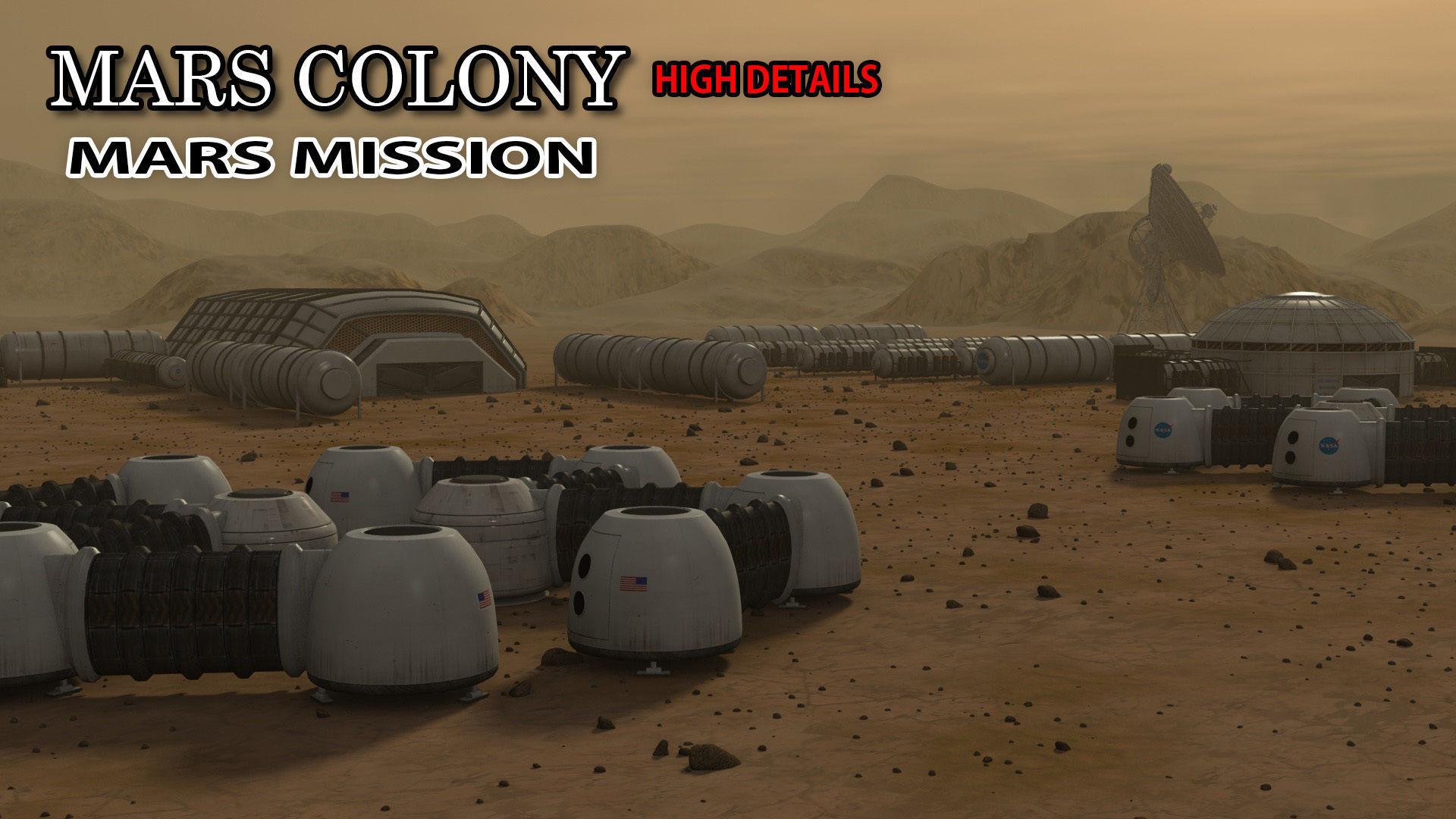 Mars City Colony