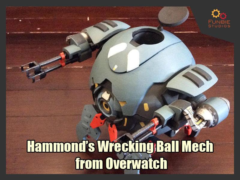 Hammond Wrecking Ball Mech from Overwatch
