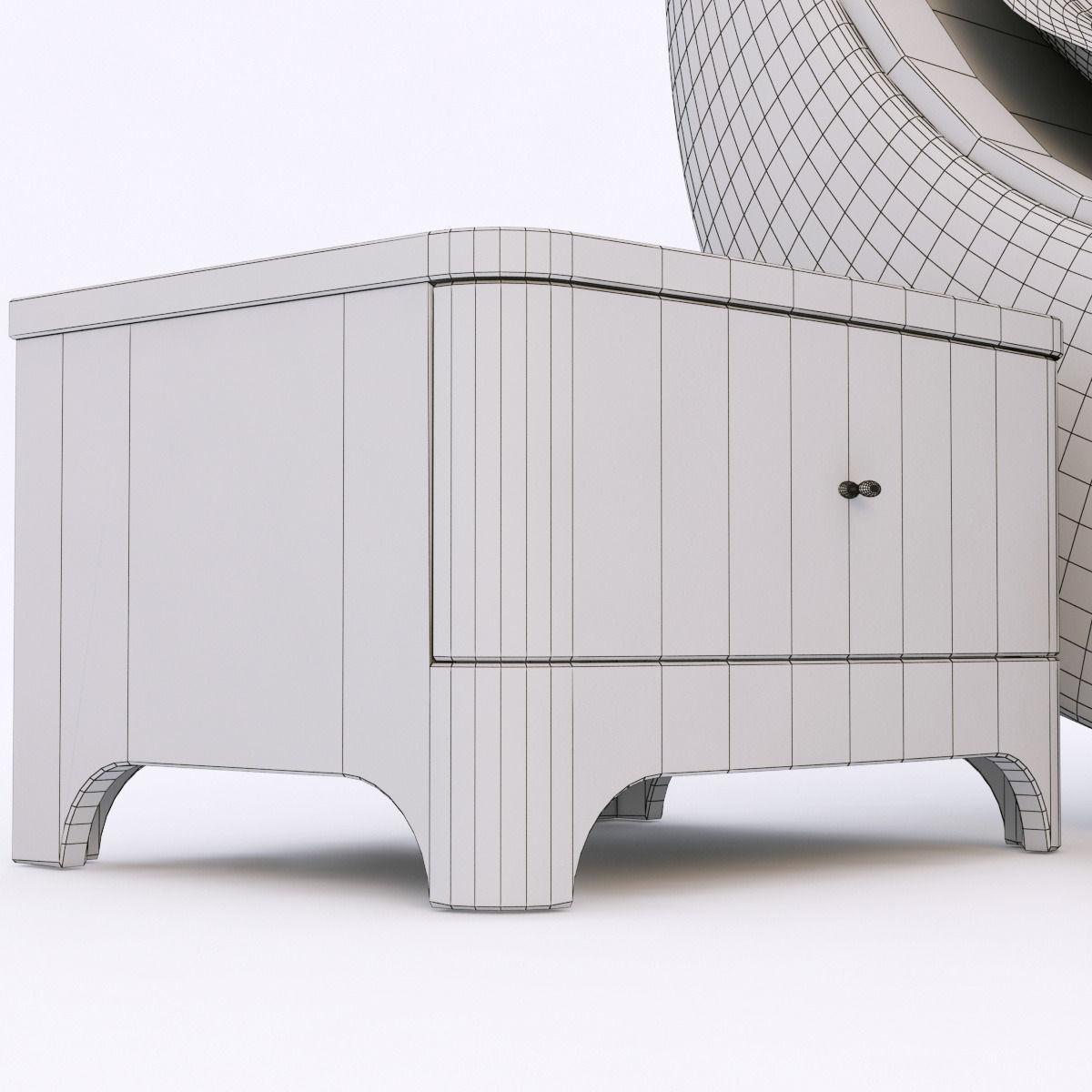 Woodways bossa nova bedroom set 3d model max obj fbx - Nova bedroom furniture collection ...