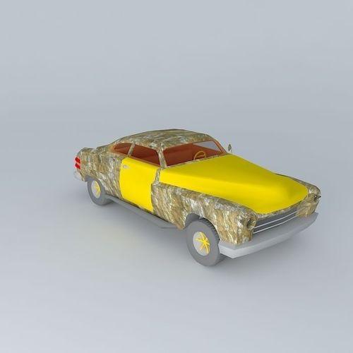 Death Race Hermes free 3D Model .max .obj .3ds .fbx .stl .dae ...