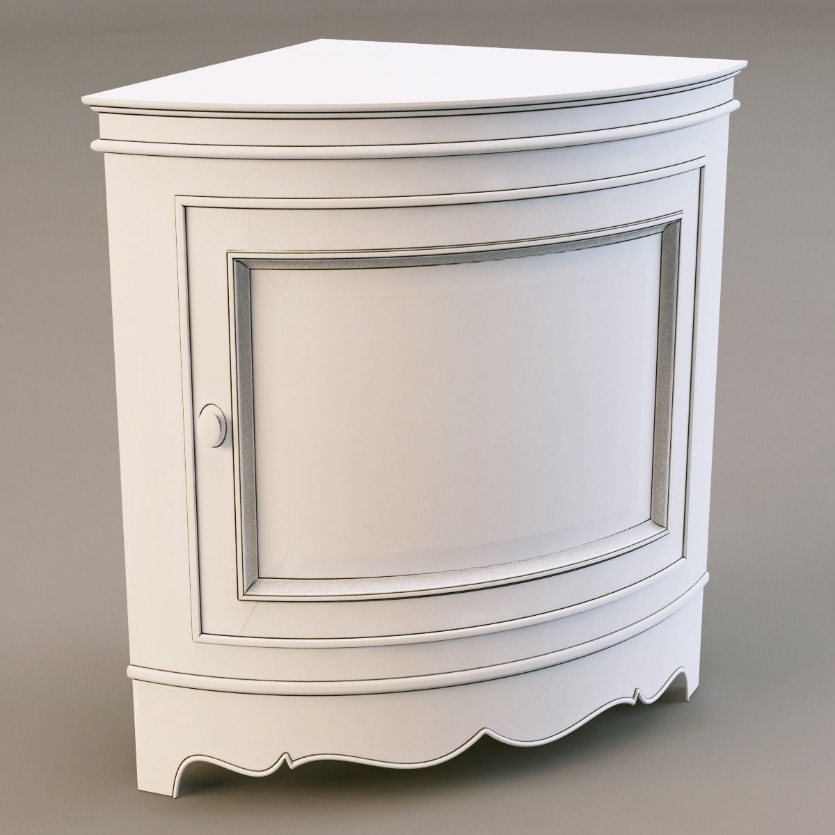 country corner pbb2 nightstand 3d model max obj 3ds