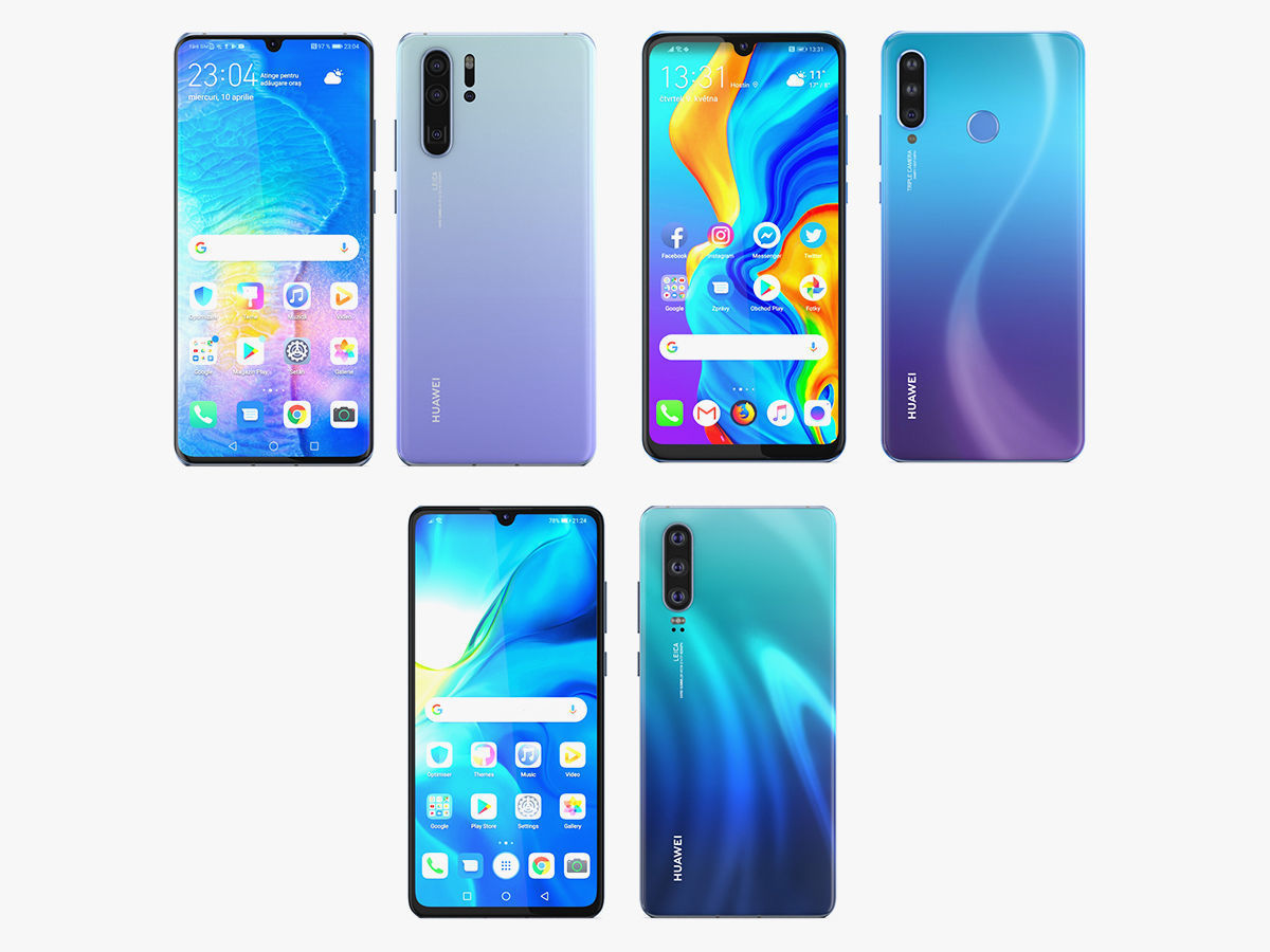 Huawei P30 and P30 Pro and P30 Lite