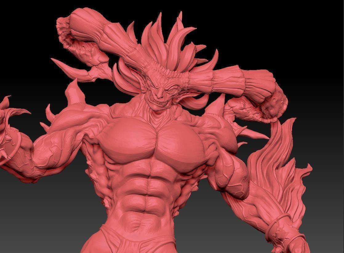 Ifrit Final Fantasy | 3D Print Model