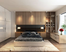 Model Bedroom bedroom interior 3d models | download 3d bedroom files | cgtrader