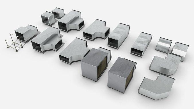 Modular Square Air Conditioning Tubing