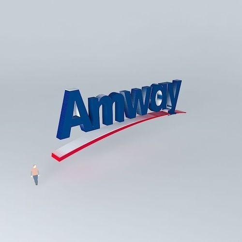 Logo De Amway. Free 3D Model MAX OBJ 3DS FBX STL SKP