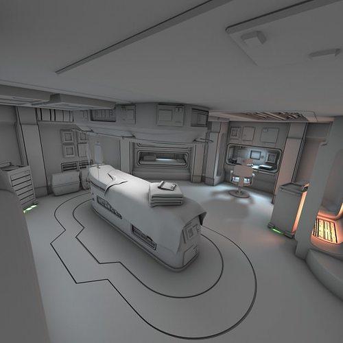 future spacecraft interior - photo #17