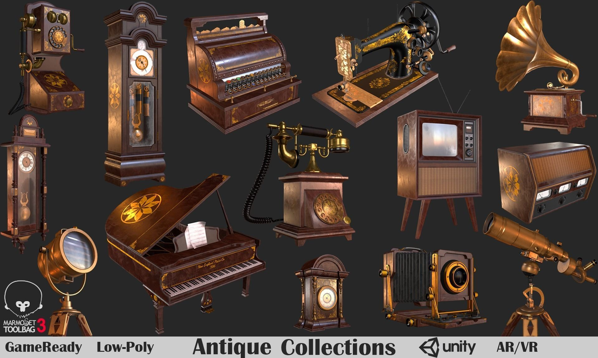 Antique Collections PBR