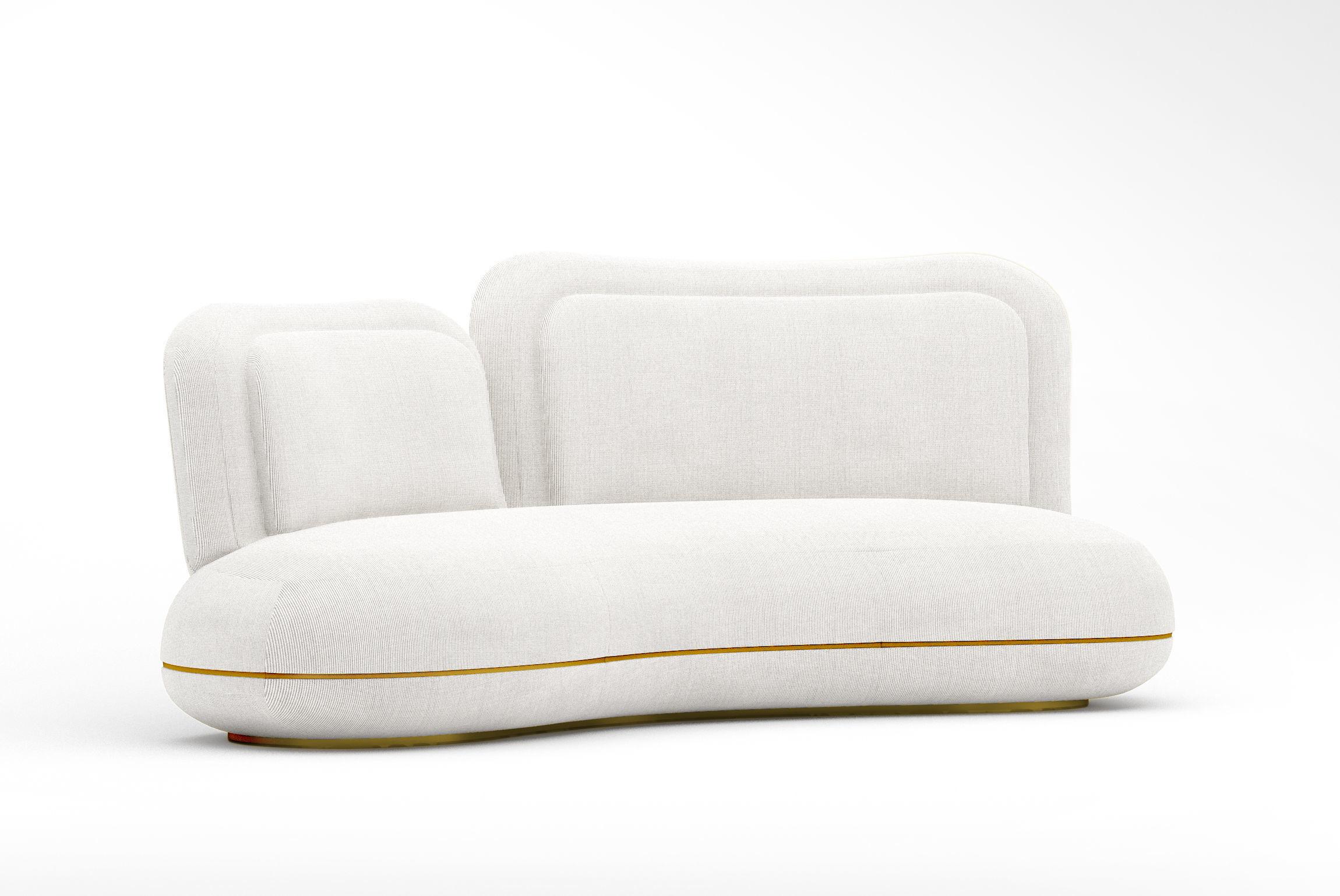 SE oshun sofa with oshun daybed and oshun armchair