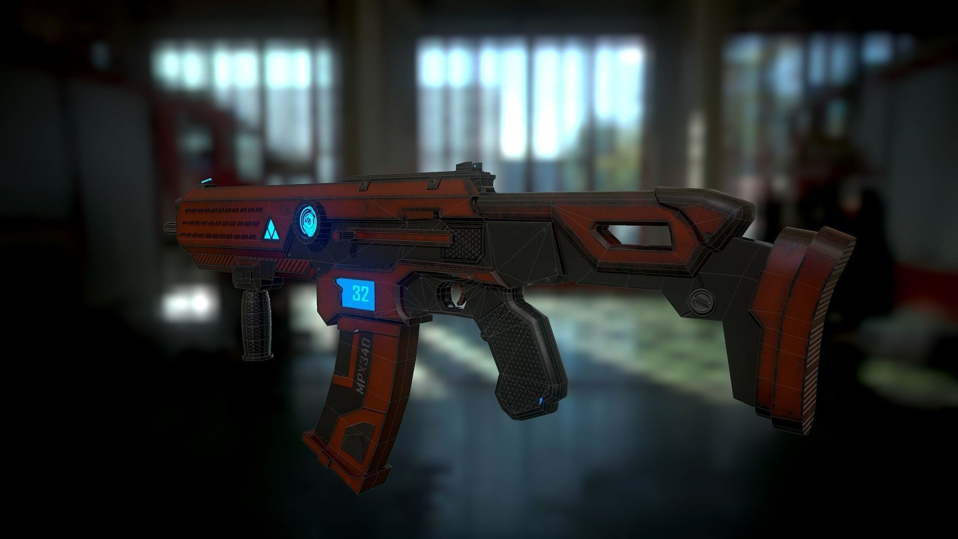 Asset Sci-fi weapons