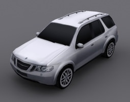 Saab 97x Suv 3D model