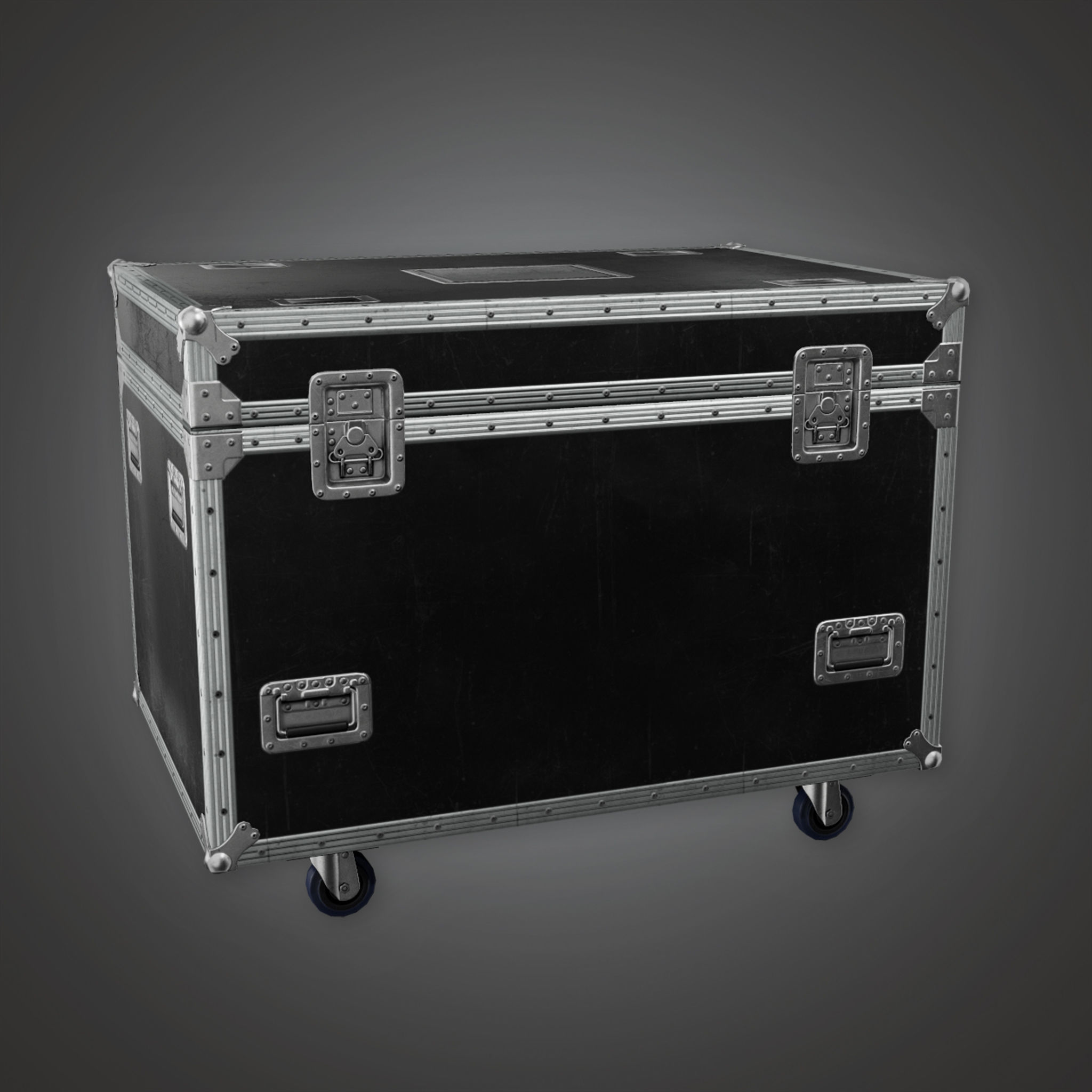 HLW - Large Crate 01 - PBR Game Ready