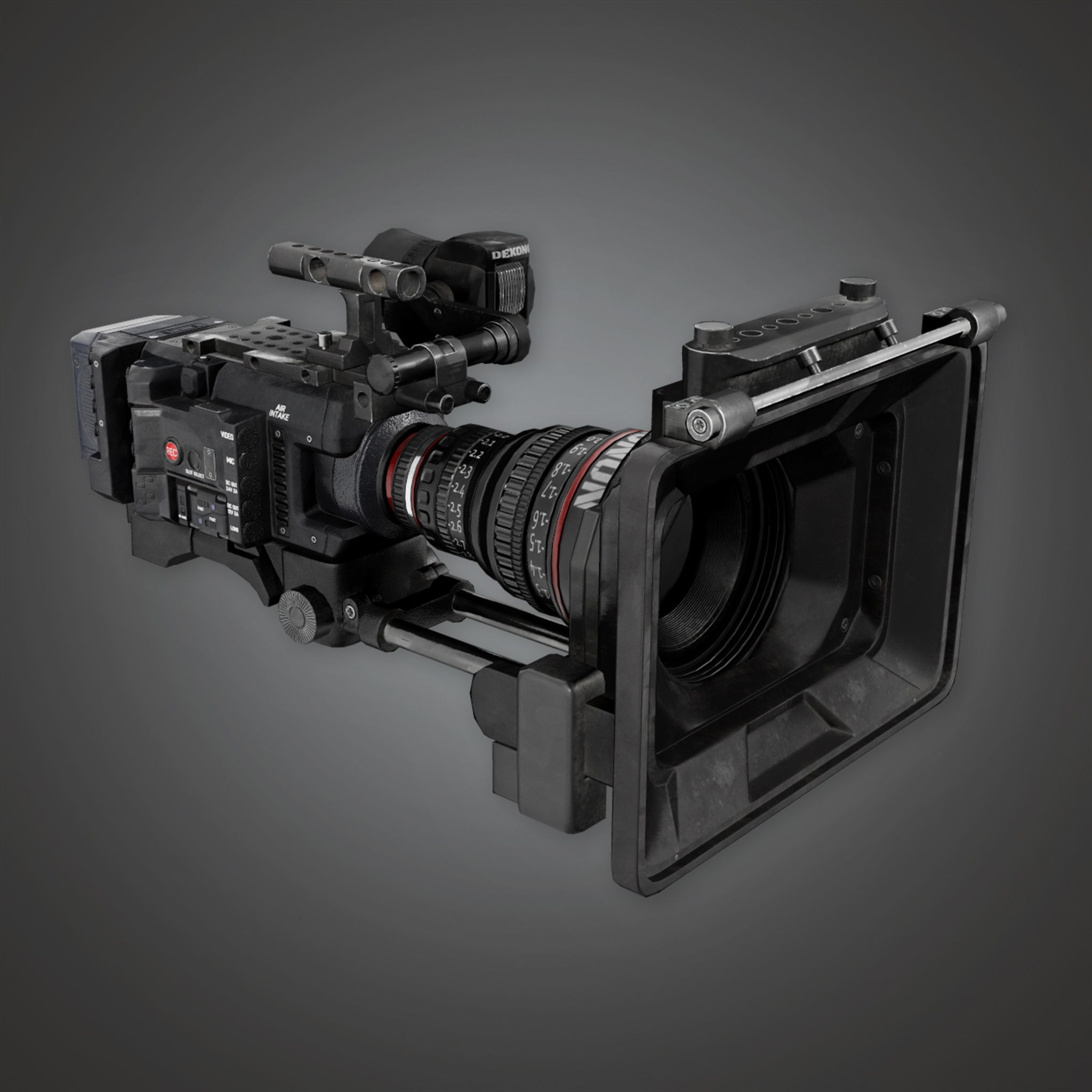 HLW - HD Production Camera - PBR Game Ready